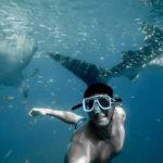 maschera subacquea graduata